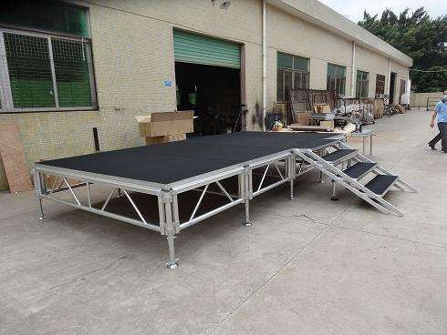 aluminum stage for sale