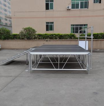 RK Aluminum stage for event