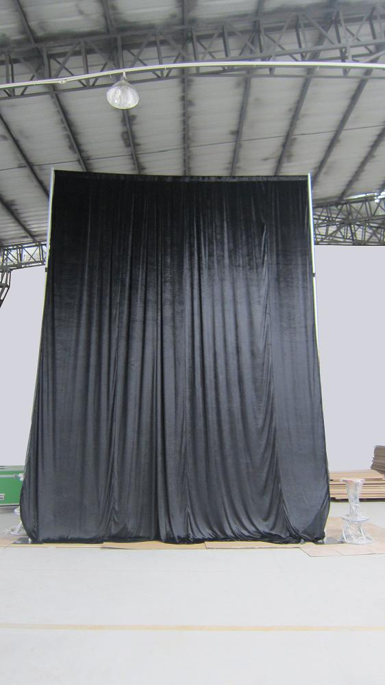 portable stage curtains