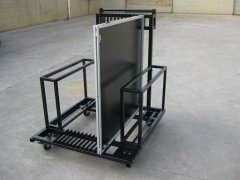 Mobile stage trailer is a tool for transporting portable stage