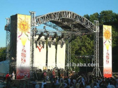 Aluminum arc roof truss, stage truss With Exhibition Display