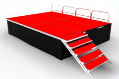 RK Hot Selling Portable Folding Stage
