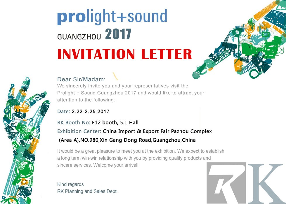 2017 Trade Show Exhibition Invitation for all of you Lets meet at