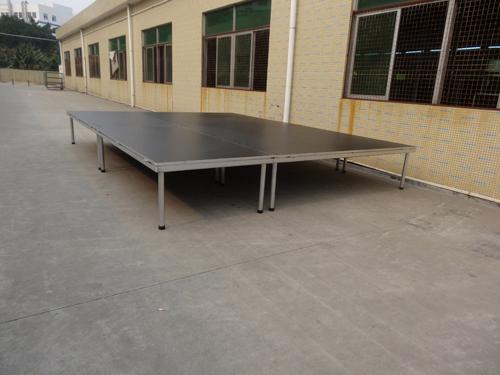 4-legs aluminum portable stage wholesale