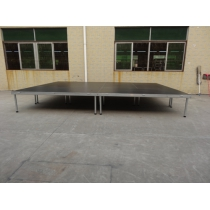 Easy set up aluminum portable stage for sale