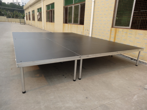 Beyond 4-legs aluminum stage for outdoor stage events