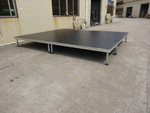 Cheap aluminum stage platforms and risers for sale