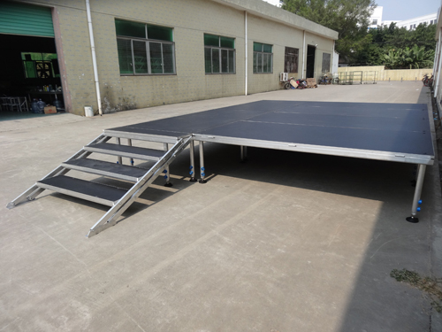 aluminum portable stage