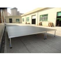 Aluminum 4-legs portable stage manufacturer