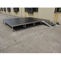 Beyond outdoor 4-legs portable stage for sale