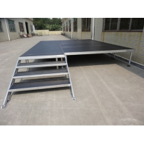 Aluminum mobile 4-legs portable stage for sale