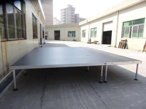 Experienced aluminum portable stage manufacturer