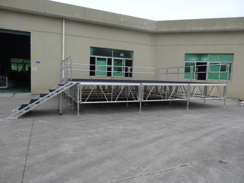 High quality aluminum stage for event rental