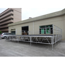 Modular Design High Density Aluminum Support Portable Outdoor Concert Stage For Sale