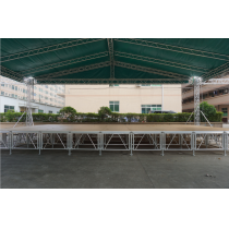 Easy assemble aluminum stage event system