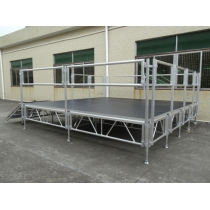 On Sale Aluminum Portable Stage With Riser
