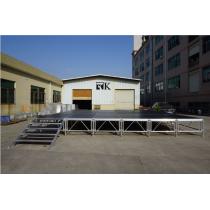 RK on sale aluminum portable stage with adjustable legs