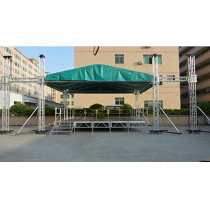 Aluminum Portable Stage With Stair for Outdoor Events