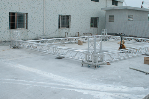 Intellistage portable stage spigot steel truss for sale