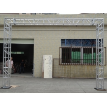 Bolt stage truss for stage truss system