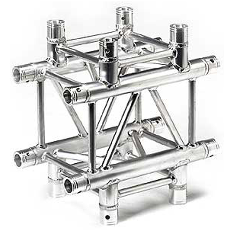 Portable aluminum trusses with truss accessory optional