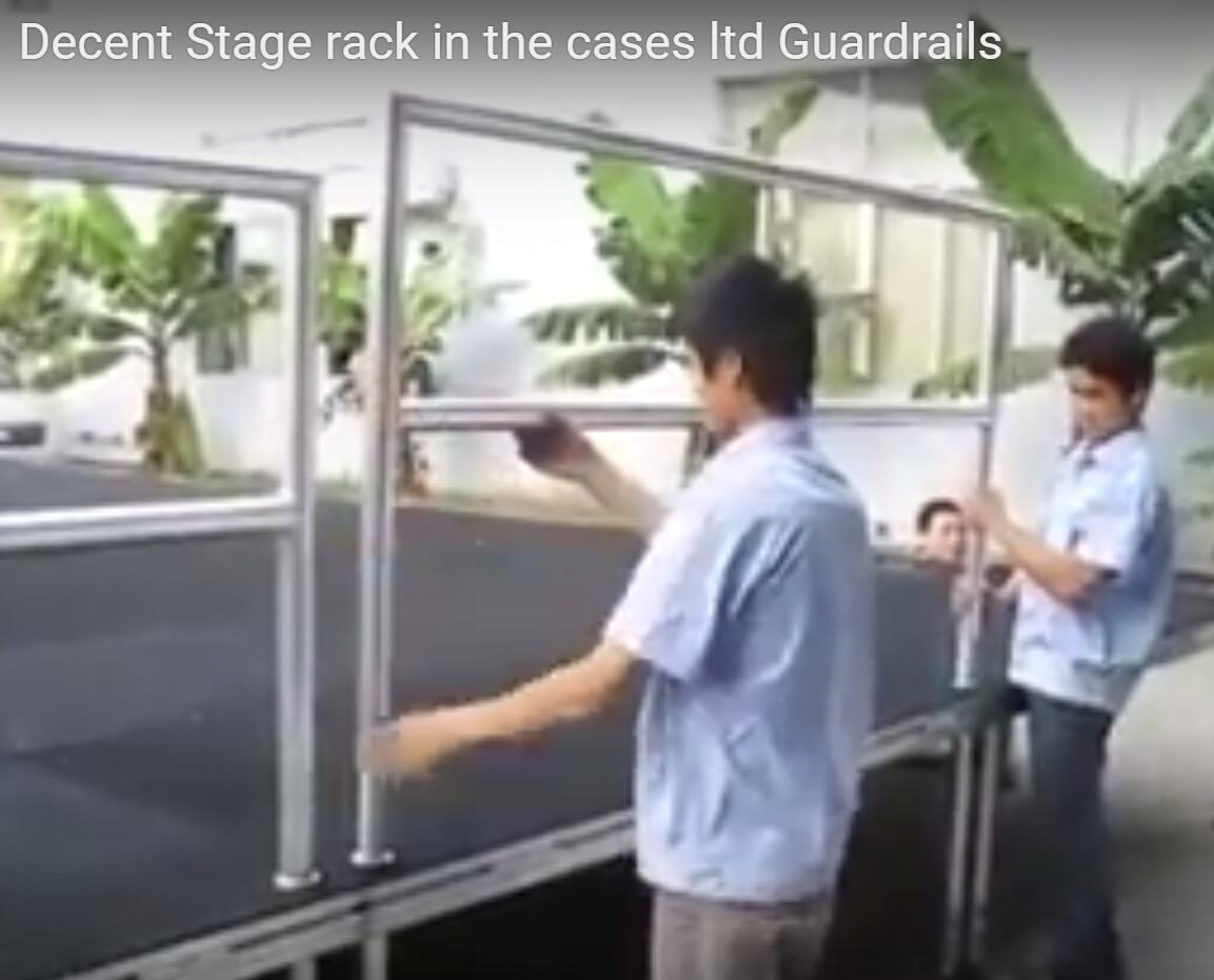【105】 Decent Stage rack in the cases ltd Guardrails