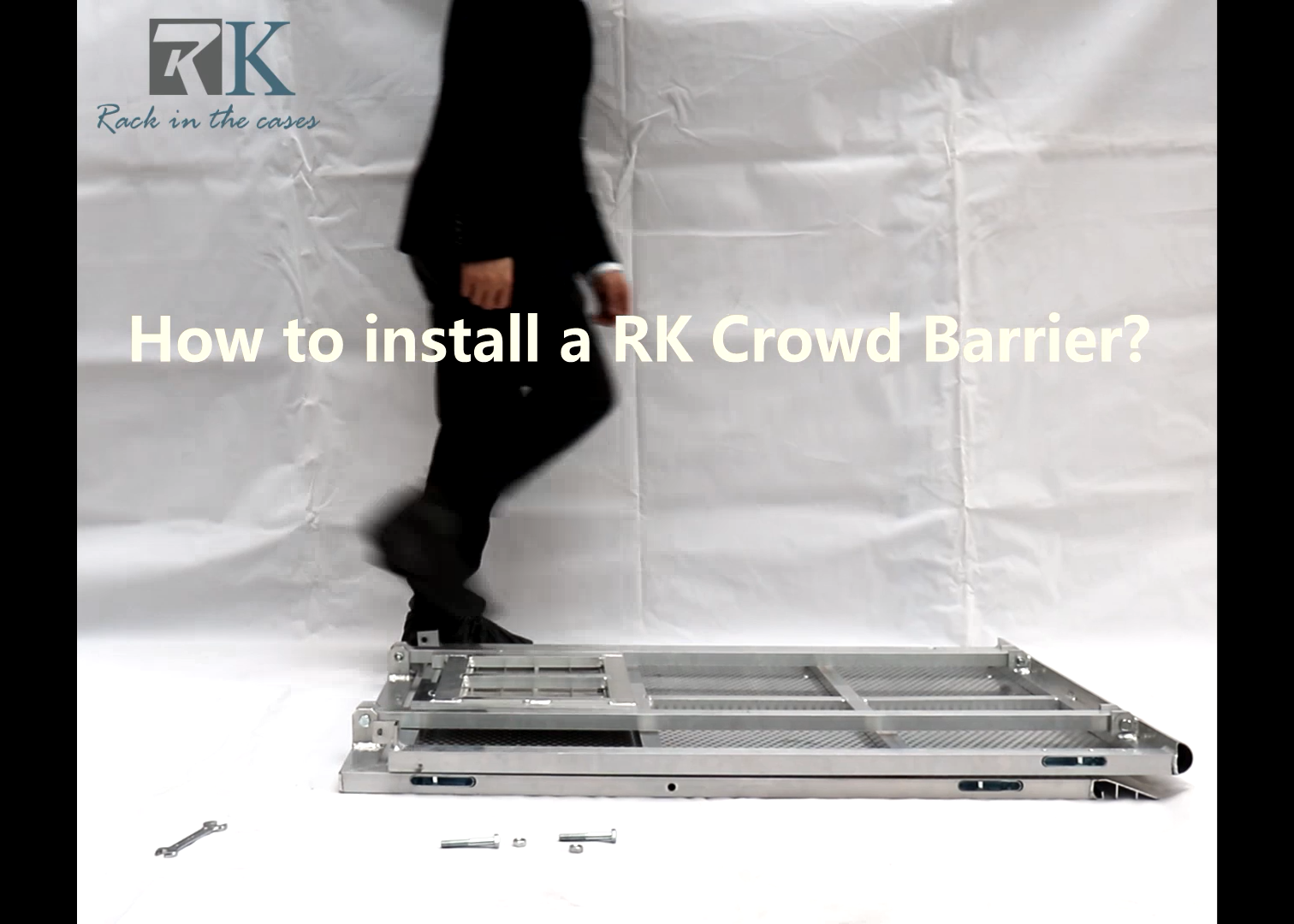How to make a RK crowd control barriers?