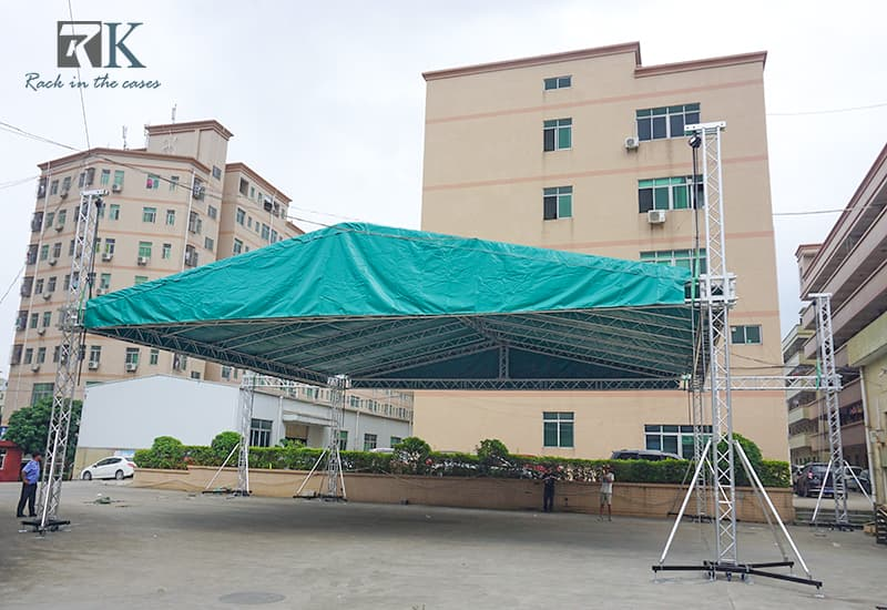 RK outdoor concert truss system
